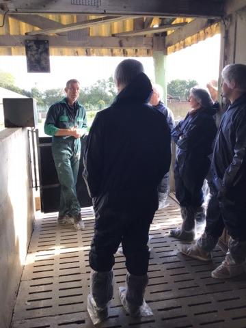 Visite d'élevage chez Christophe 15/10/2019
